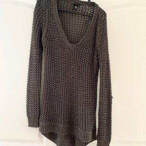 2 for $13 Rue 21 loose knit Vneck high-low sweater